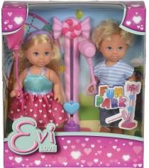 Кукла Evi Love Еви и Тимми на аттракционах 5738059