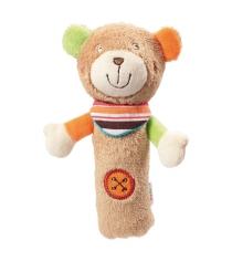 Погремушка-пищалка Медвежонок Оскар 091052