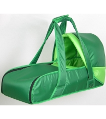 Переносная люлька-кокон Фея 0005605-3 зеленый