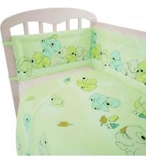 Постельное белье для новорожденных Фея Мишки зеленый...