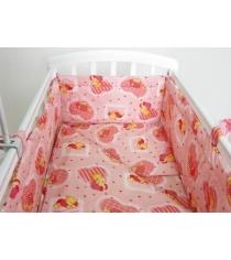 Простыня Фея Мишки 0001049-1 на резинке розовый