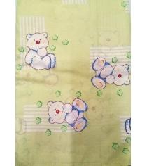 Простыня Фея Мишки 0001049-1 на резинке зеленый