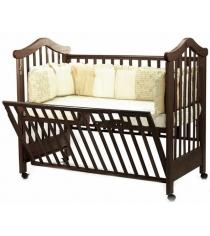 Кроватка на колесиках Fiorellino Lily Орех