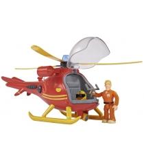 Dickie Toys Пожарный Сэм Вертолет Валлаби с фигуркой и аксессуарами (9251661)