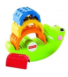 Пирамидка детская Fisher Price Крокодильчик CDC48