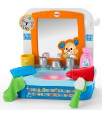 Интерактивная развивающая игрушка Fisher-Price Смейся и учись. Умывальник Ученого Щенка DRH28
