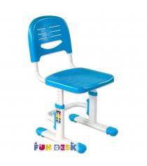 Детское кресло FunDesk SST3 голубой белый
