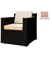 Кресло с 2 подушками GARDA-1007 R бежевый