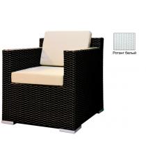Кресло с 2 подушками GARDA-1007 R белый