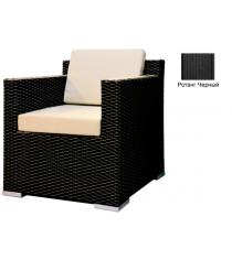 Кресло с 2 подушками GARDA-1007 R черный