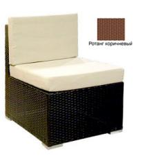 Промежуточный модуль с 2 подушками GARDA-1007 R коричневый