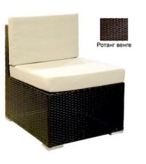 Промежуточный модуль с 2 подушками GARDA-1007 R венге