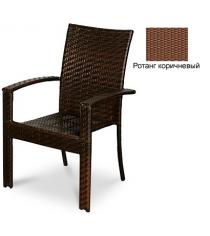 Кресло с усиленной передней опорой GARDA-1011 R коричневый