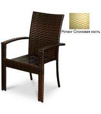 Кресло с усиленной передней опорой GARDA-1011 R слоновая кость