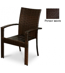 Кресло с усиленной передней опорой GARDA-1011 R венге