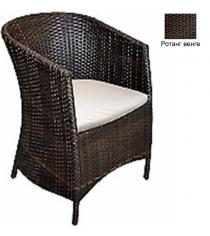 Кресло с подушкой GARDA-1022 R венге