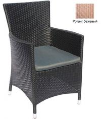 Кресло с подушкой GARDA-1033 R бежевый