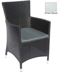 Кресло с подушкой GARDA-1033 R белый