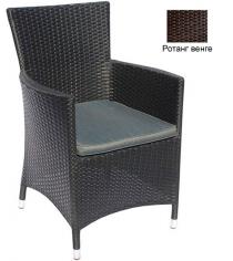 Кресло с подушкой GARDA-1033 R венге