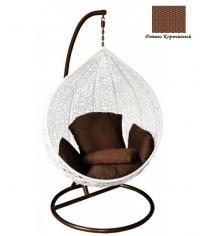 Кресло подвесное GARDA-500 R коричневый