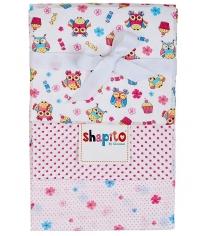 Комплект пеленок ситец Giovanni Shapito 3 шт 120x90 см совята