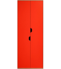 Шкаф двухстворчатый Глазов мебель Автобус 4 Красный