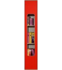 Детский шкаф для книг Глазов мебель Автобус 7 Красный