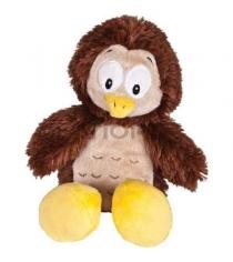 Мягкая игрушка сова с желтым клювом и лапками 22 см...