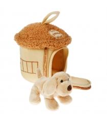 Мягкая игрушка домик сумка с собачкой 15 см 21 912050 1...
