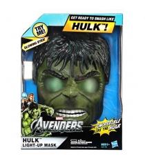 Детский шлем Marvel Халка со светящимися глазами Hasbro A2176H