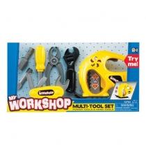 Детская мастерская Keenway Набор инструментов с электрорубанком Keenwey 12763...