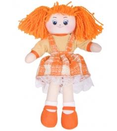 Мягкая игрушка кукла апельсинка в клетчатом платье 30 см 30 11bac3498...