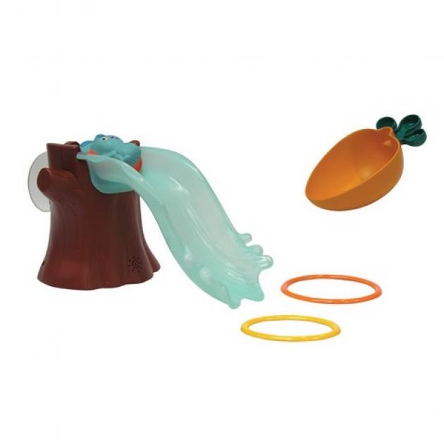 Бани - аквапарк, игровой набор для ванны (горка+бани+аксессуары+крепление) Ouaps (Оуапс) (Арт. 61033)