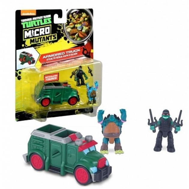 Микро бронированный грузовик черепашек ниндзя 87611