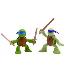 Playmates toys Фигурка TMNT Series 6  Лео и Дон юные мутанты 90527
