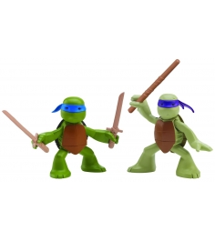 Playmates toys Фигурка TMNT Series 6  Лео и Дон юные мутанты 90527...