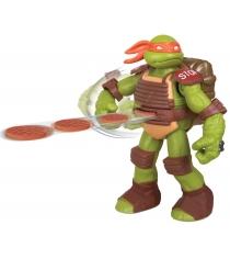 Playmates toys Фигурка TMNT Черепашка-ниндзя с метательным механизмом Микеланджело 91102