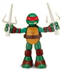 Playmates toys Фигурка TMNT Черепашка-ниндзя с растягивающимися руками Рафаэль 9...