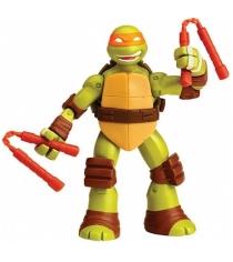Playmates toys Фигурка TMNT Черепашка-ниндзя с секретным приемом 91620 Майки 15 см