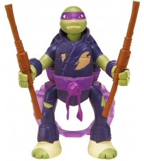Playmates toys Фигурка TMNT Throw N Battle Донателло 15 см 91631