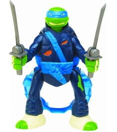 Playmates toys Фигурка TMNT Throw N Battle Леонардо 15 см 91630