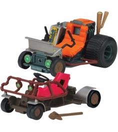 Playmates toys Набор TMNT Патрульные Багги (Раф и Микки) 94034...