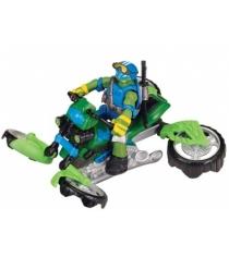 Мотоцикл квадрокоптер Mutation с фигуркой Лео 94262