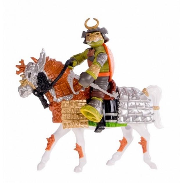 Всадник черепашки ниндзя самурай Майки на коне 94269