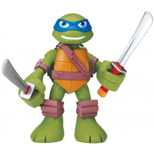 Говорящая фигурка Черепашки ниндзя Half Shell Hero Леонардо 15 см 96311