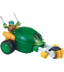 Фигурка Черепашки ниндзя Half Shell Hero Раф с мотоциклом-стелс 6 см 96754