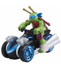 Машинка Черепашки ниндзя Лео на Трицикле 7см 97215