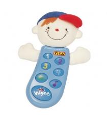 Музыкальный телефон с функцией записи Вэйн K's kids KA300PB