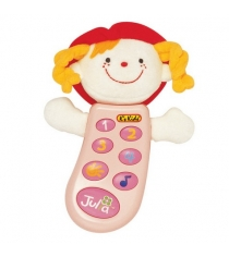 Музыкальный телефон с функцией записи Джулия K's kids KA301PB