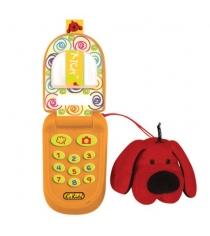 Музыкальный телефон с функцией записи Патрик K's kids KA499